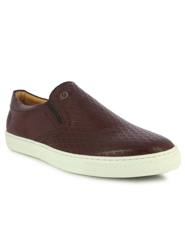 Alberto Torresi Men's Avox Brown Slip-ons