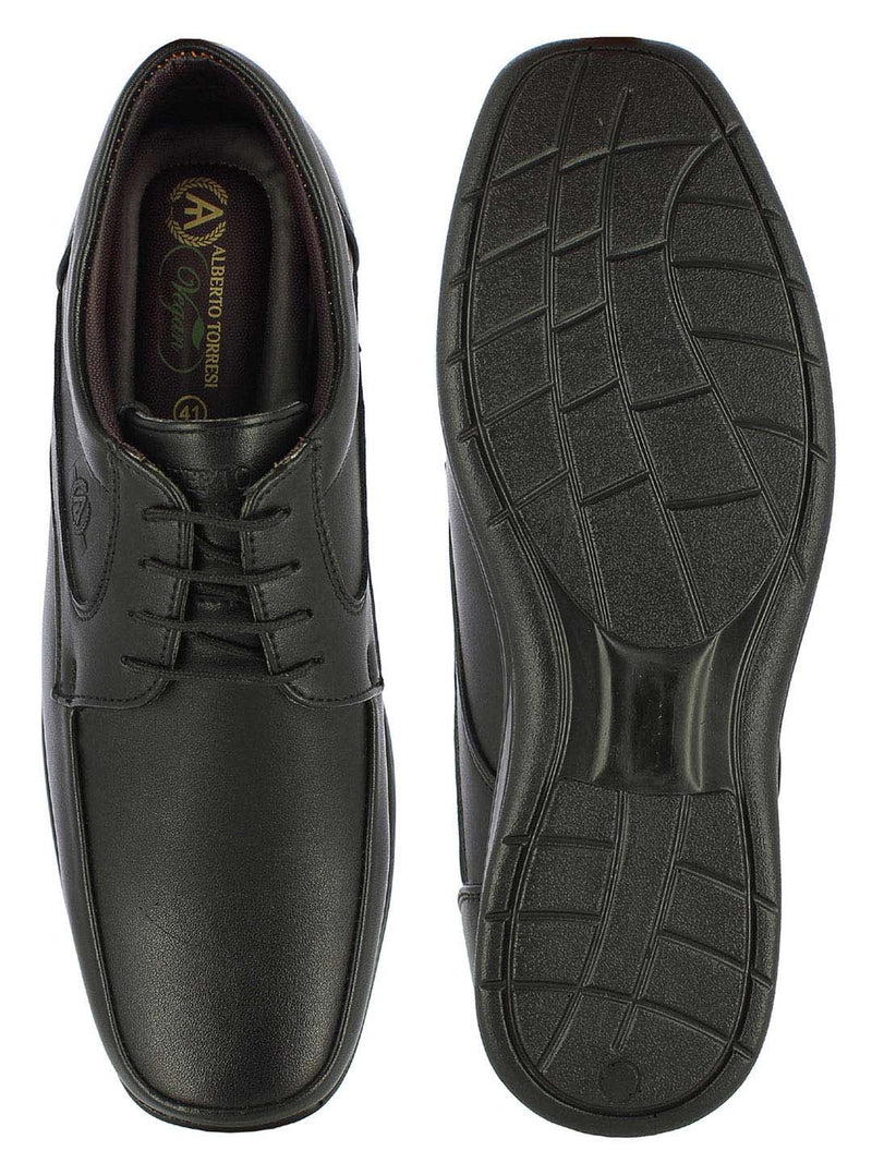 Alberto Torresi Bern High Top Men's Black Lace-ups