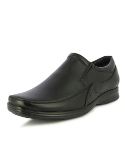 Alberto Torresi Kassel Men's Black Formal Slip-ons
