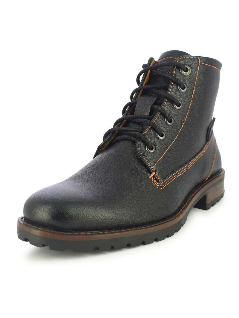 Alberto Torresi Men's Scoto Black Boots