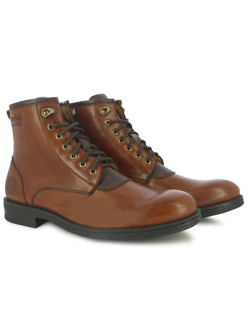 Alberto Torresi Brown Men Boots