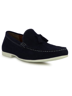 Funen Men's Navy Casual Loafers