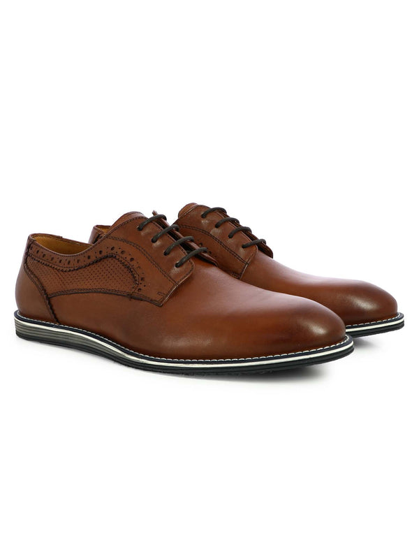 Alberto Torresi Men's Brandy Brogues