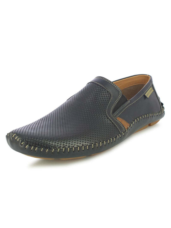 Alberto Torresi Jasper Men's Blue Slip-on Sandals