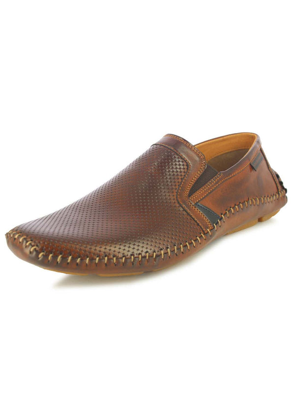 Alberto Torresi Jasper Men's Brown Slip-on Sandals