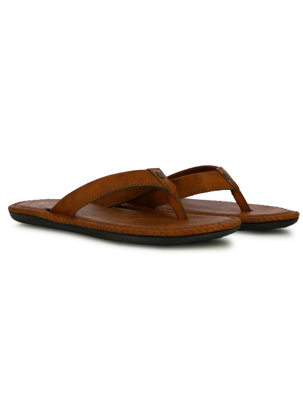Alberto Torresi Men's Loco Tan Slippers