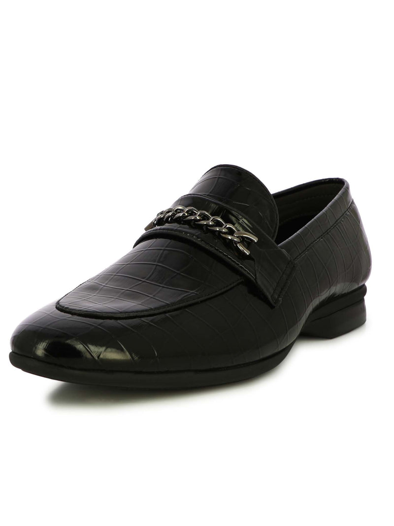 Alberto Torresi Men Ritzy Black Formal Shoes