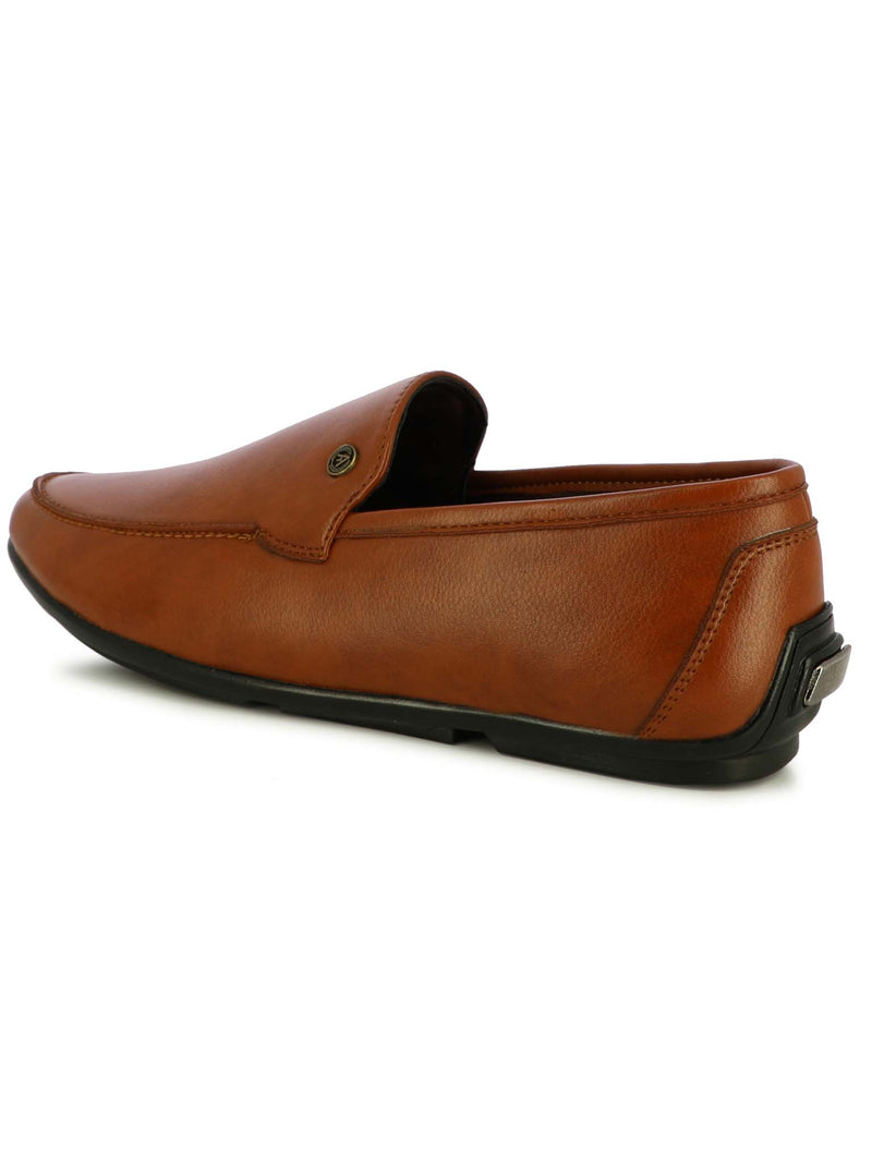 Alberto Torresi Men Faso Tan Formal Slip-ons