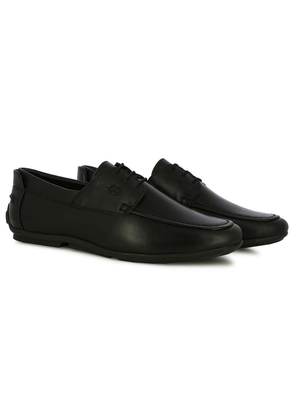 Alberto Torresi Men's Allax Black Formal Shoes