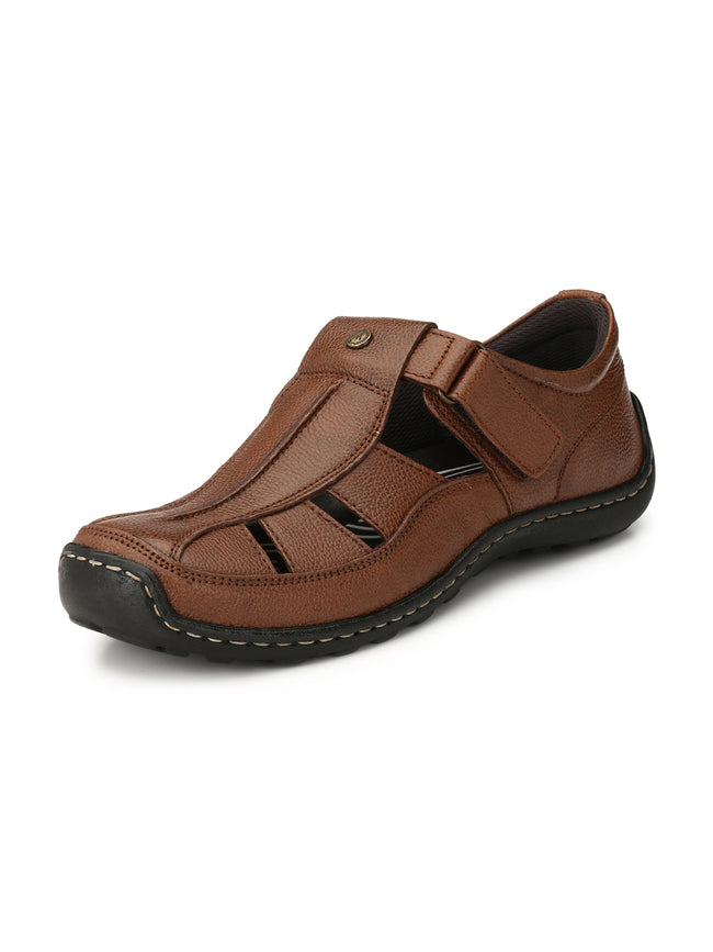 Alberto Torresi Pippo Brown Sandals