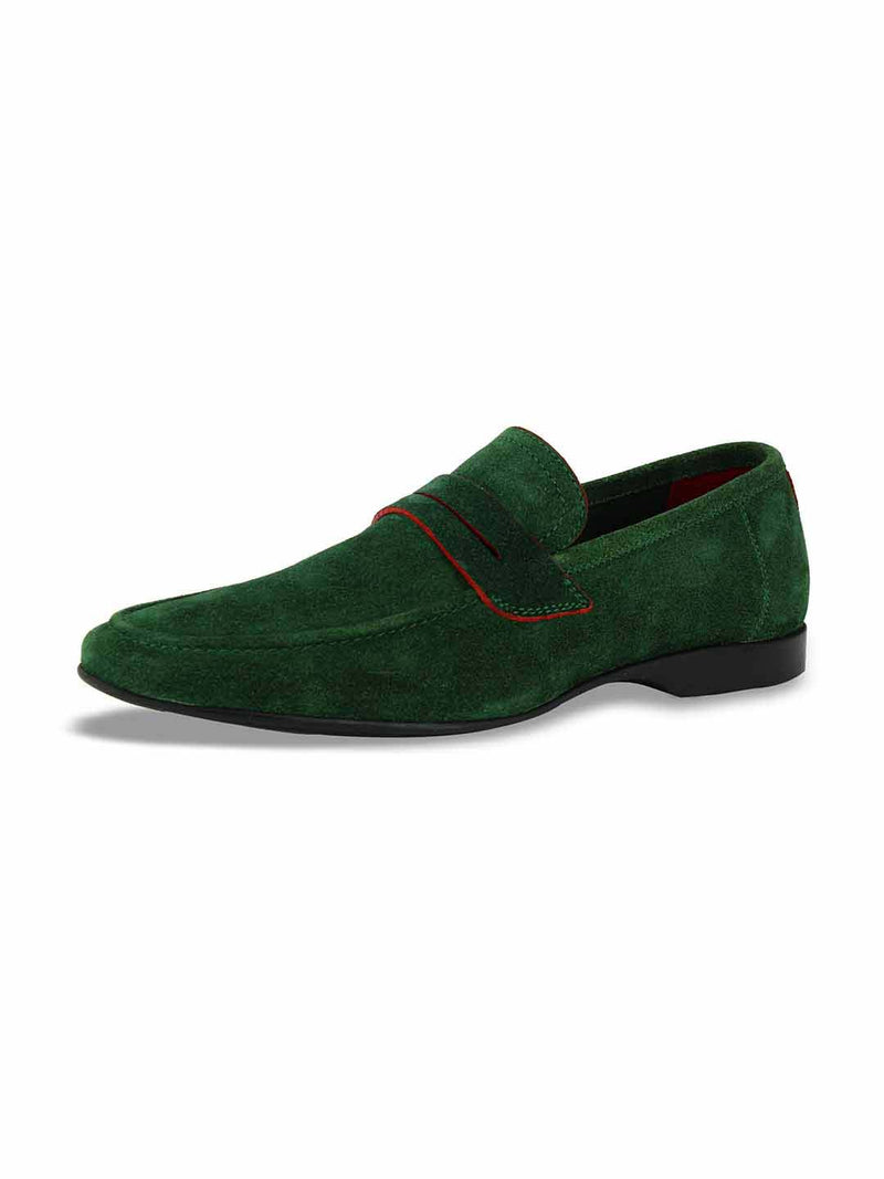 Alberto Torresi Domenico Green Casual Shoes