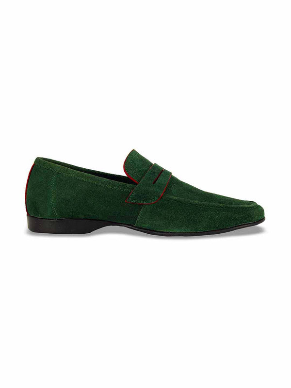 Alberto Torresi Domenico Green Casual Shoes - Alberto Torresi  - 2