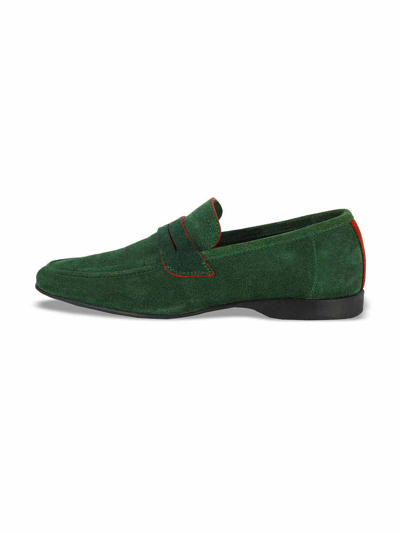 Alberto Torresi Domenico Green Casual Shoes - Alberto Torresi  - 3