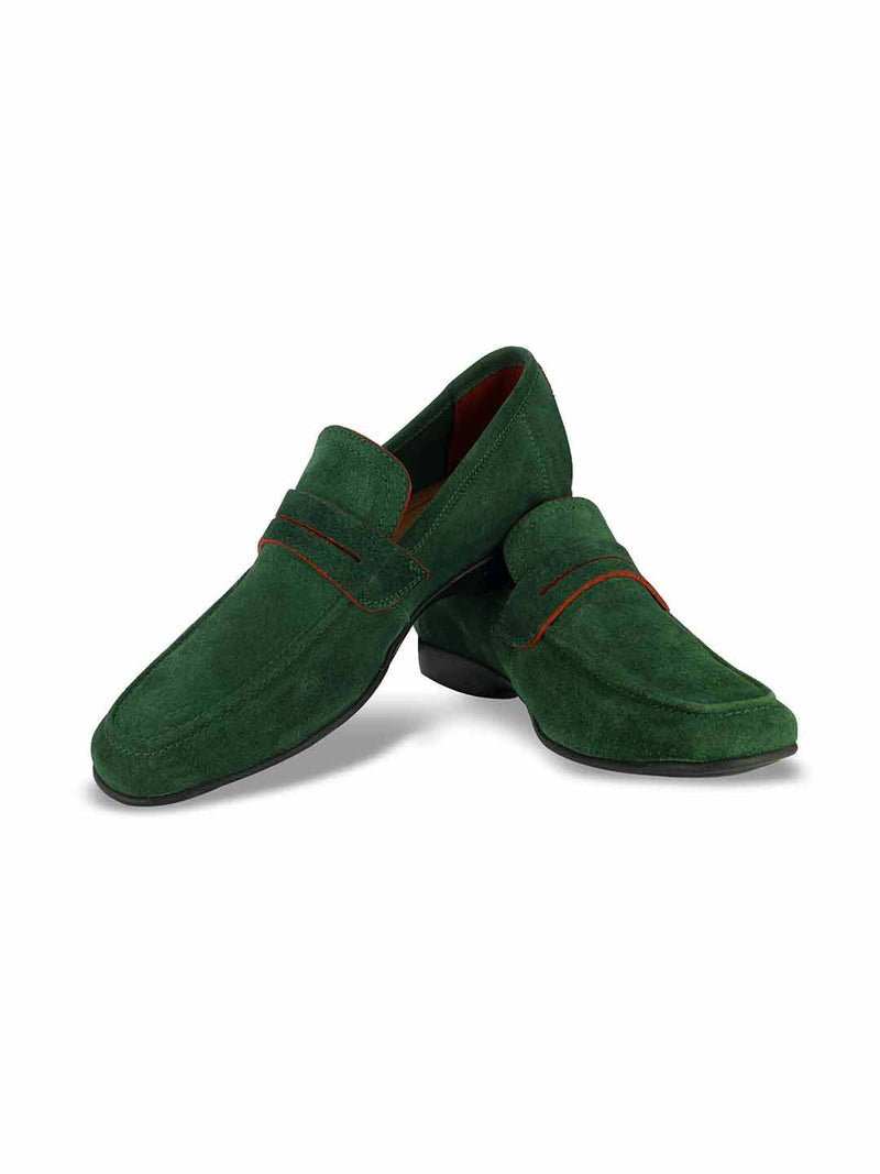 Alberto Torresi Domenico Green Casual Shoes - Alberto Torresi  - 4