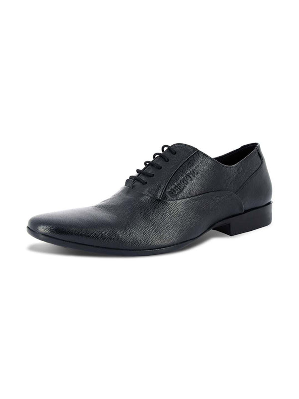 Alberto Torresi Maso Black Formal Shoes