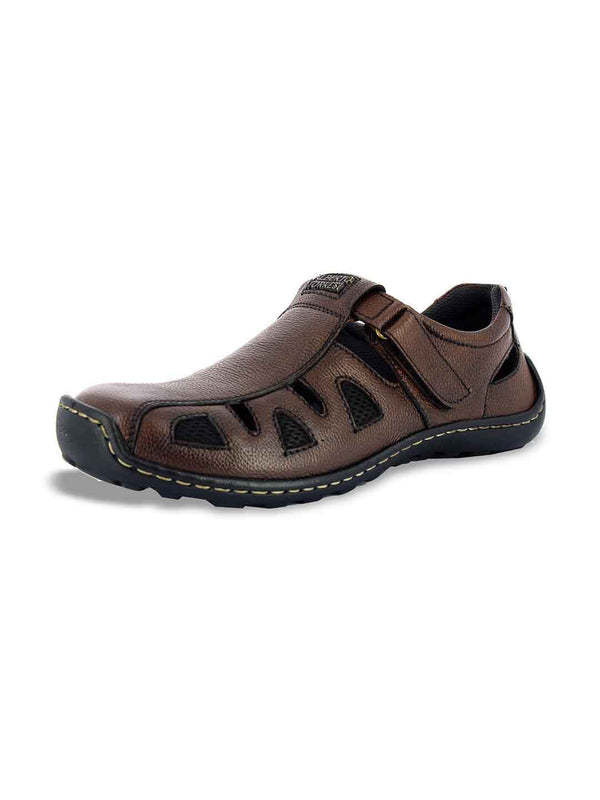 Alberto Torresi Berto Brown Sandals
