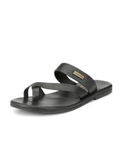 Alberto Torresi Piero Black Slippers