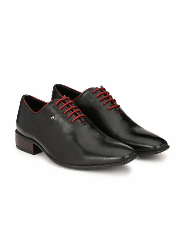 Alberto Torresi Matteos Black Formal Shoes