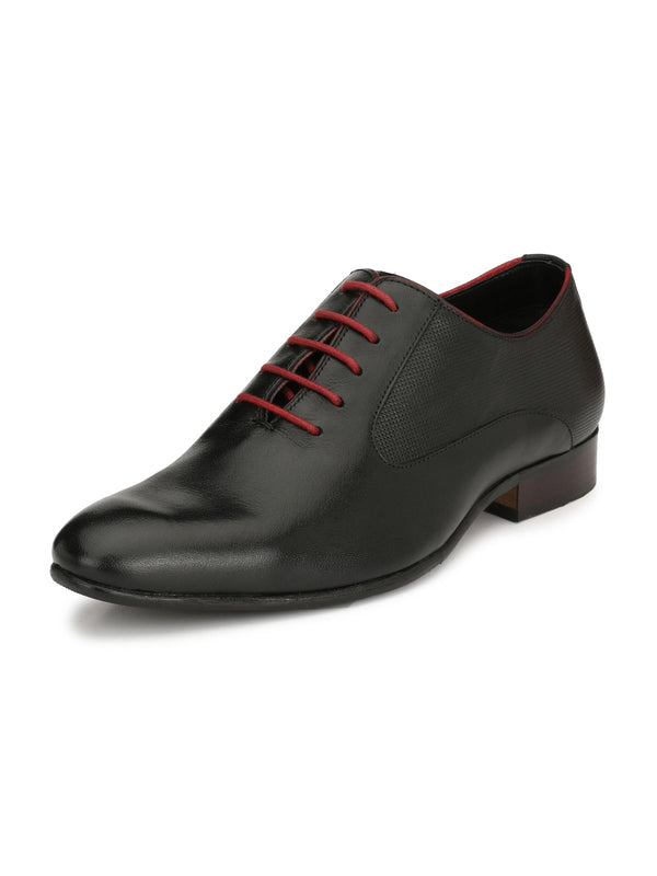 Alberto Torresi Stagio Black Leather Formal Men Shoes