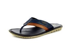 Alberto Torresi Gobor BLUE+TAN Slipper
