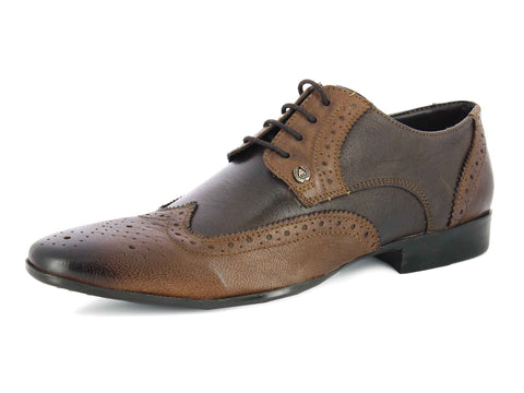 Alberto Torresi Donnie TAN+BROWN Formal Shoes