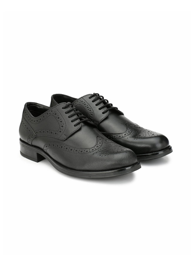 Alberto Torresi Croma Black Formal Shoes