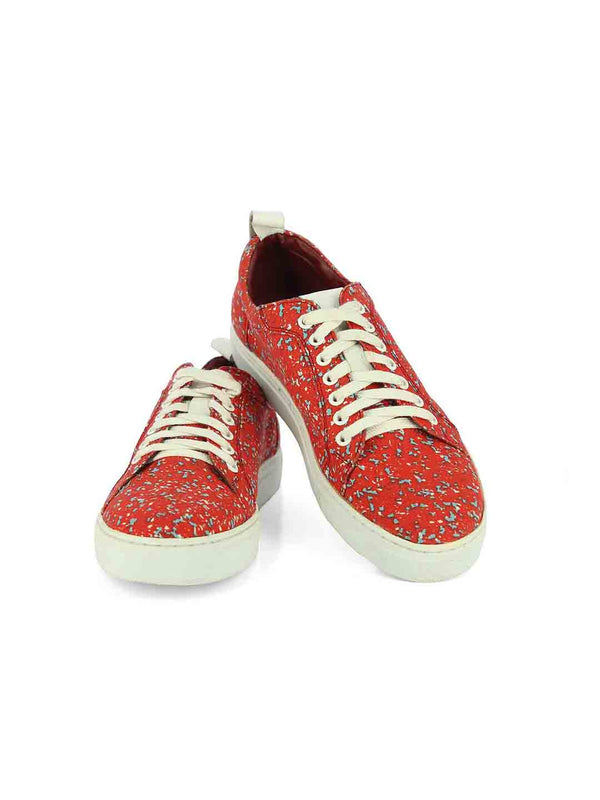 Alberto Torresi Rizzuto Red Casual Shoes