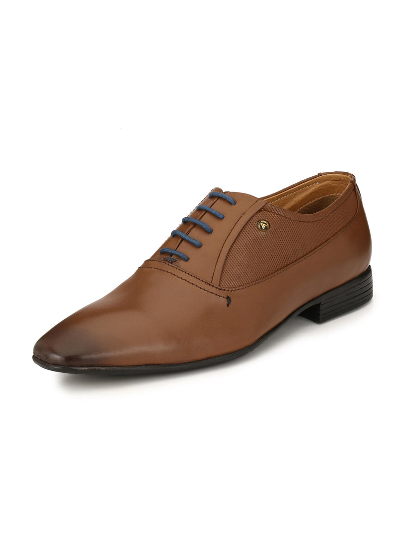 Alberto Torresi Canary TAN Formal Shoes