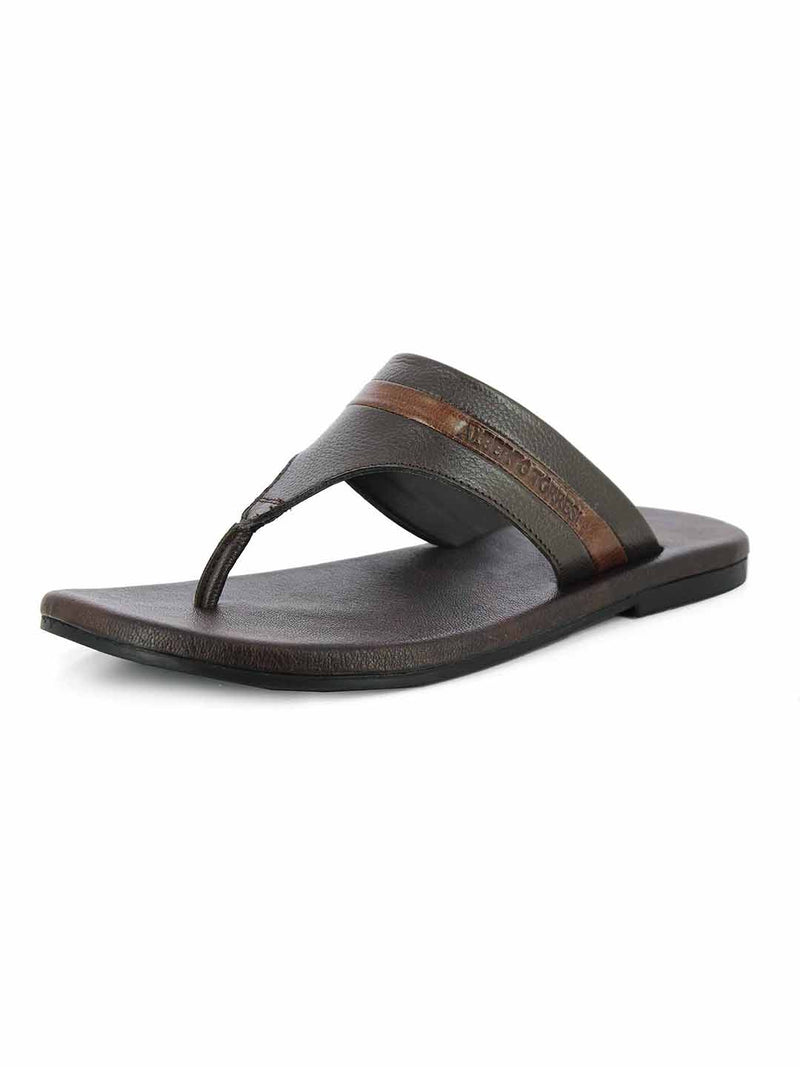 Alberto Torresi Mallorca BROWN Slippers