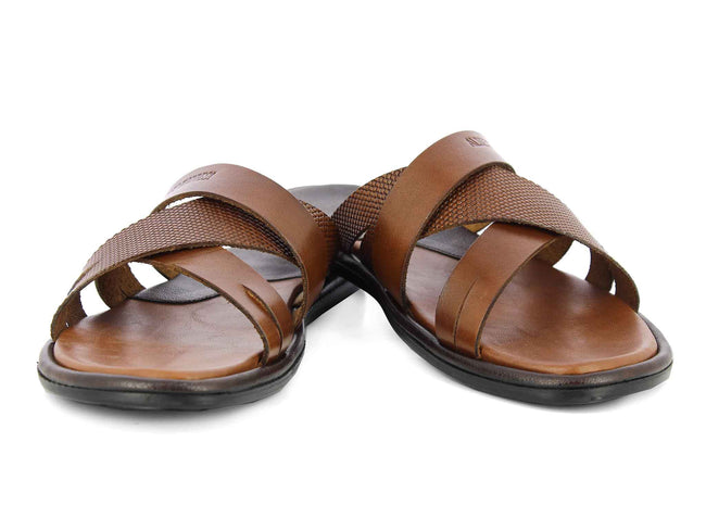 Alberto Torresi Aragon TAN Slippers