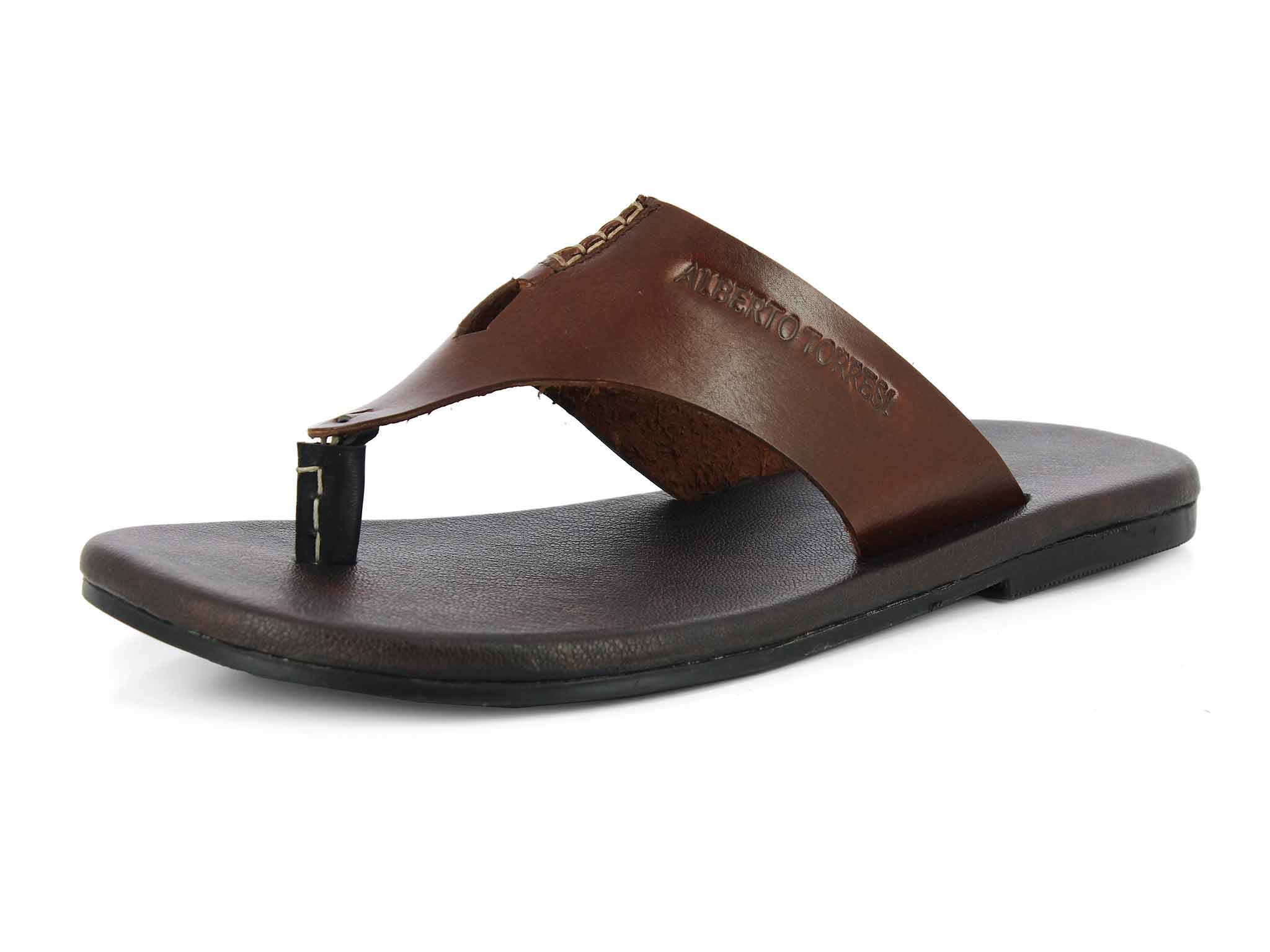Alberto Torresi Tropical MID BROWN Slippers