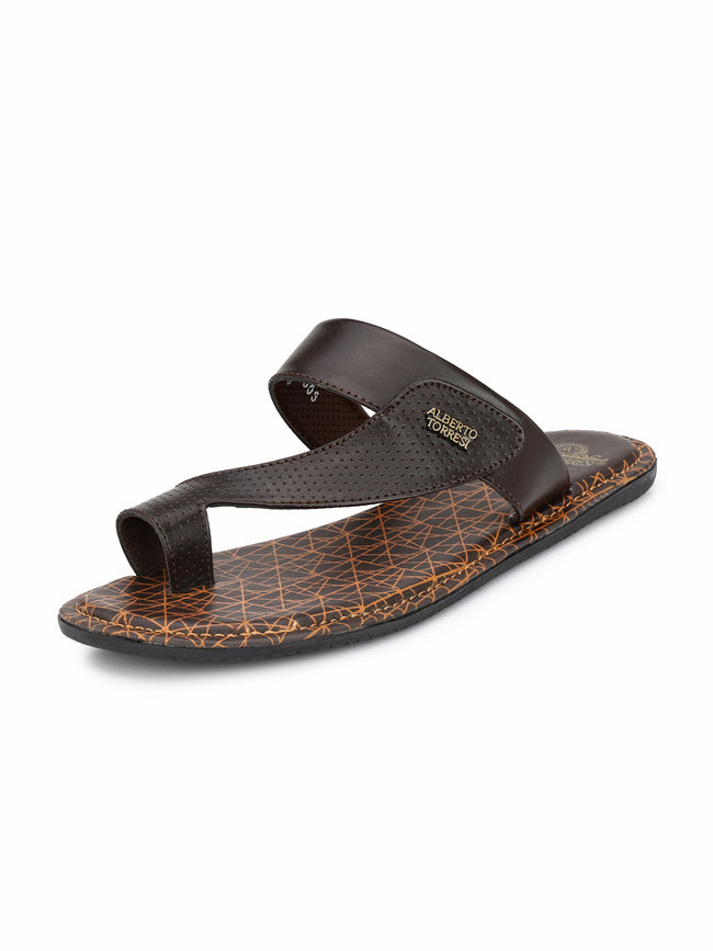 Alberto Torresi Horta BROWN Slipper