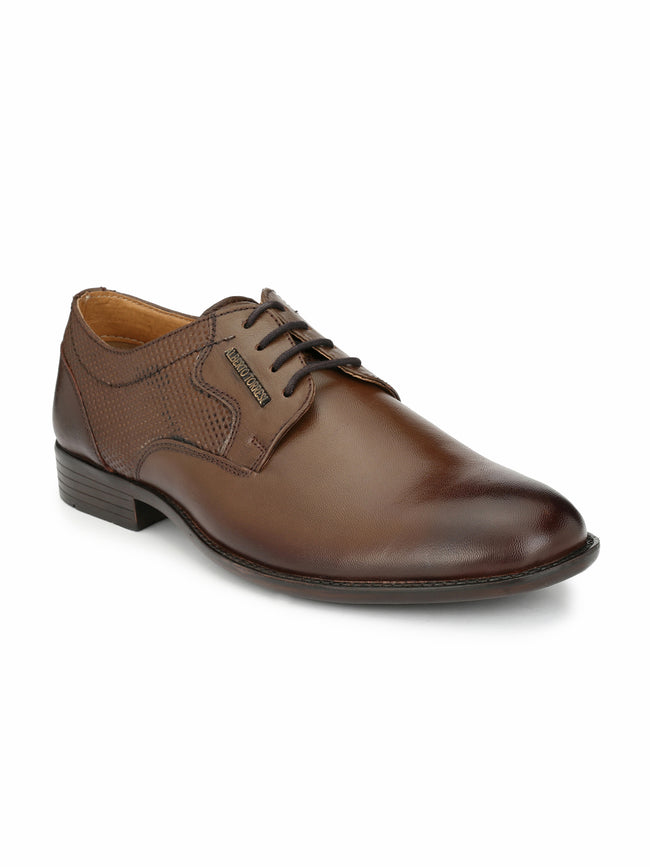 Alberto Torresi Allotano Cognac Formal Shoes