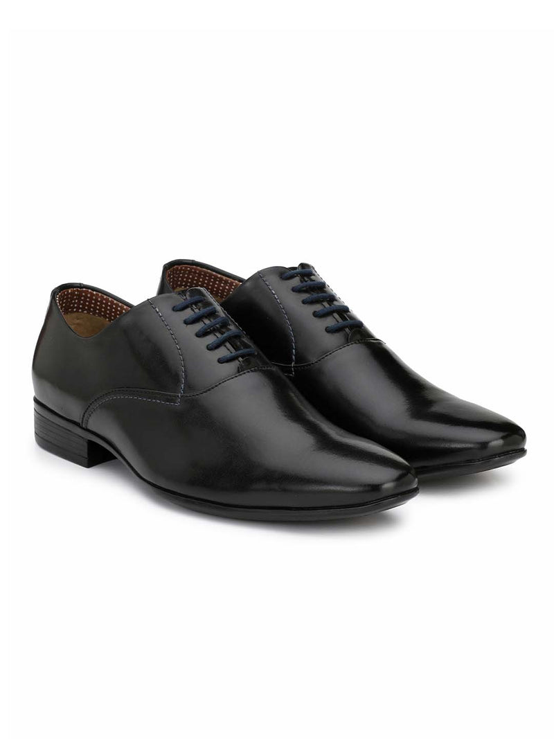 Alberto Torresi Porto Black Formal Shoes