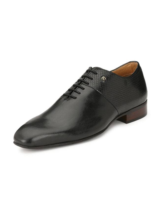 Alberto Torresi Adriano Black Formal shoe