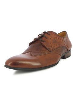 Alberto Torresi Men's Lugo Brown Oxfords