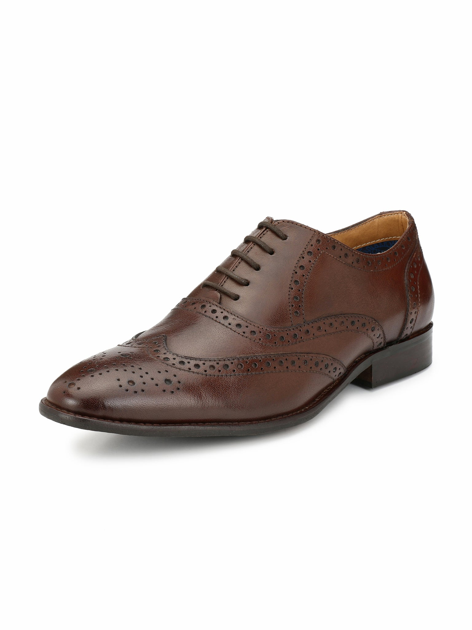 Alberto Torresi Ginom Brown Formal Shoe