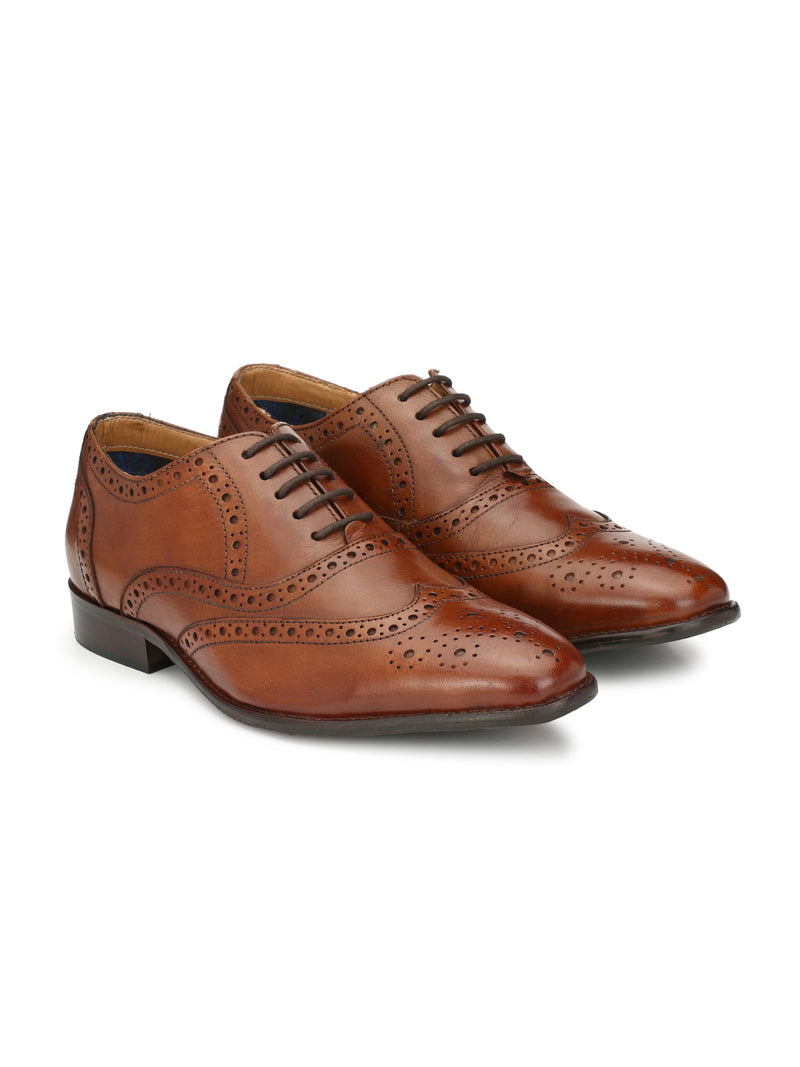 Alberto Torresi Ginom Tan Formal Shoes