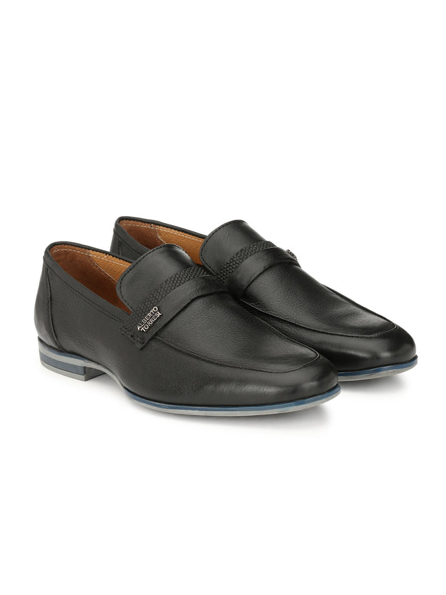 Alberto Torresi Matteo Black Formal Shoes