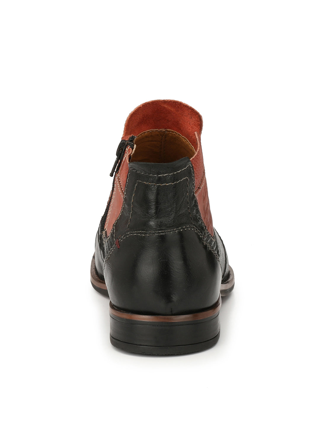 Alberto Torresi Orlando Black + Red Boot
