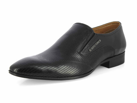 Alberto Torresi Guiliano Black Formal Shoes