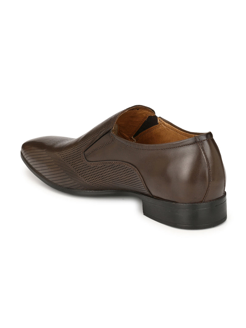 Alberto Torresi Guiliano Brown Formal Shoes