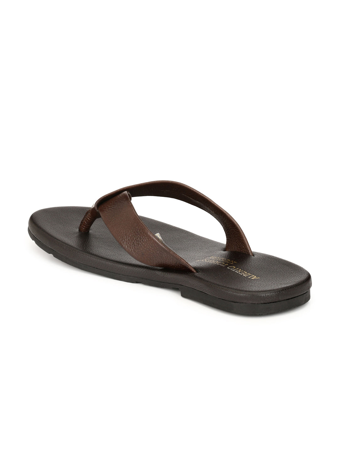 Alberto Torresi Berdo Dark Brown Slippers