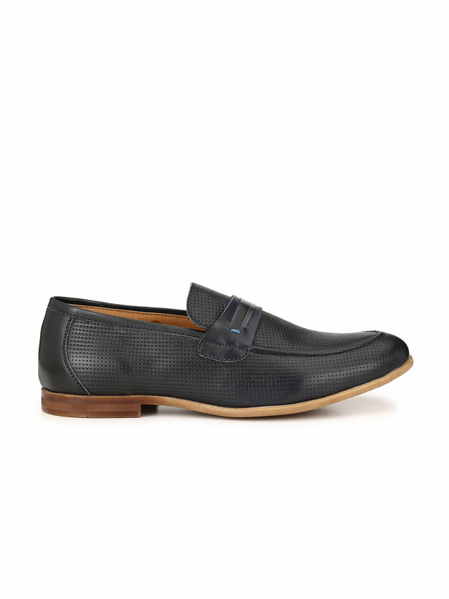 Alberto Torresi Tomasso Blue Formal Shoe