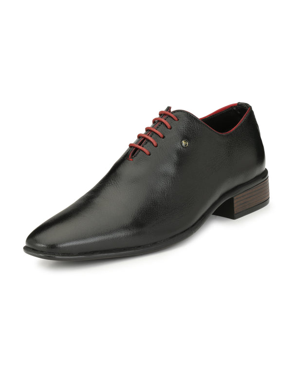 Alberto Torresi Dislaro Formal Black + Red Shoe