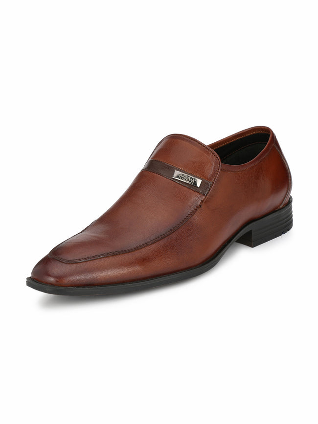 Alberto Torresi Leon TAN+BROWN Formal shoe