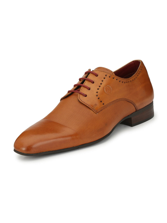 Alberto Torresi Pirlane formal Tan  shoe