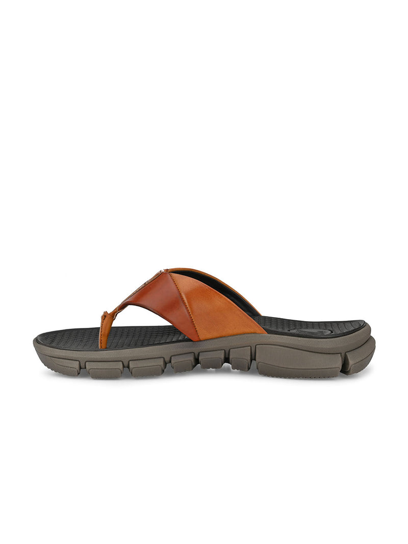 Jackhill Men's Tan Slippers