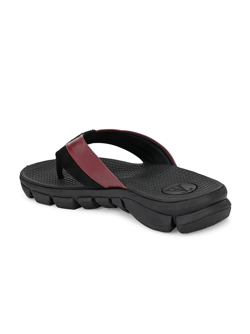 Dave Men's Bordo Slippers