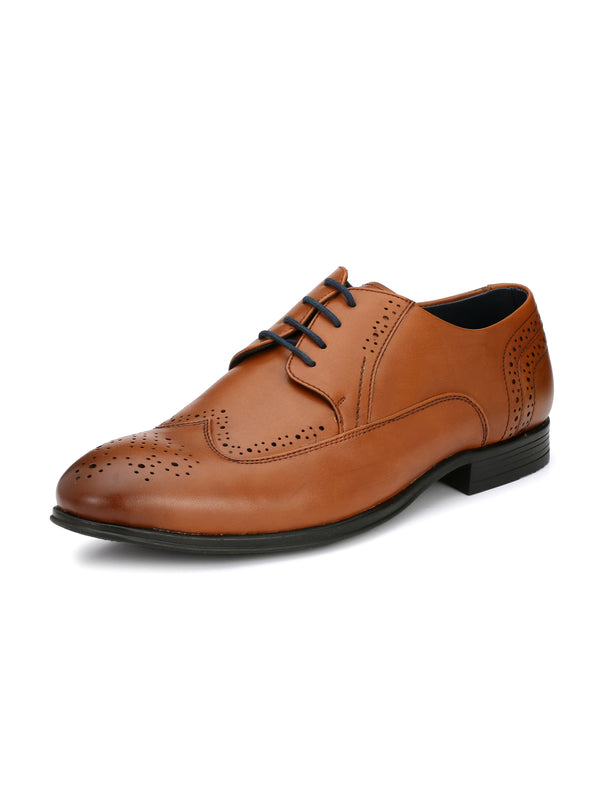 Alberto Torresi Bruno Tan Formal Shoes